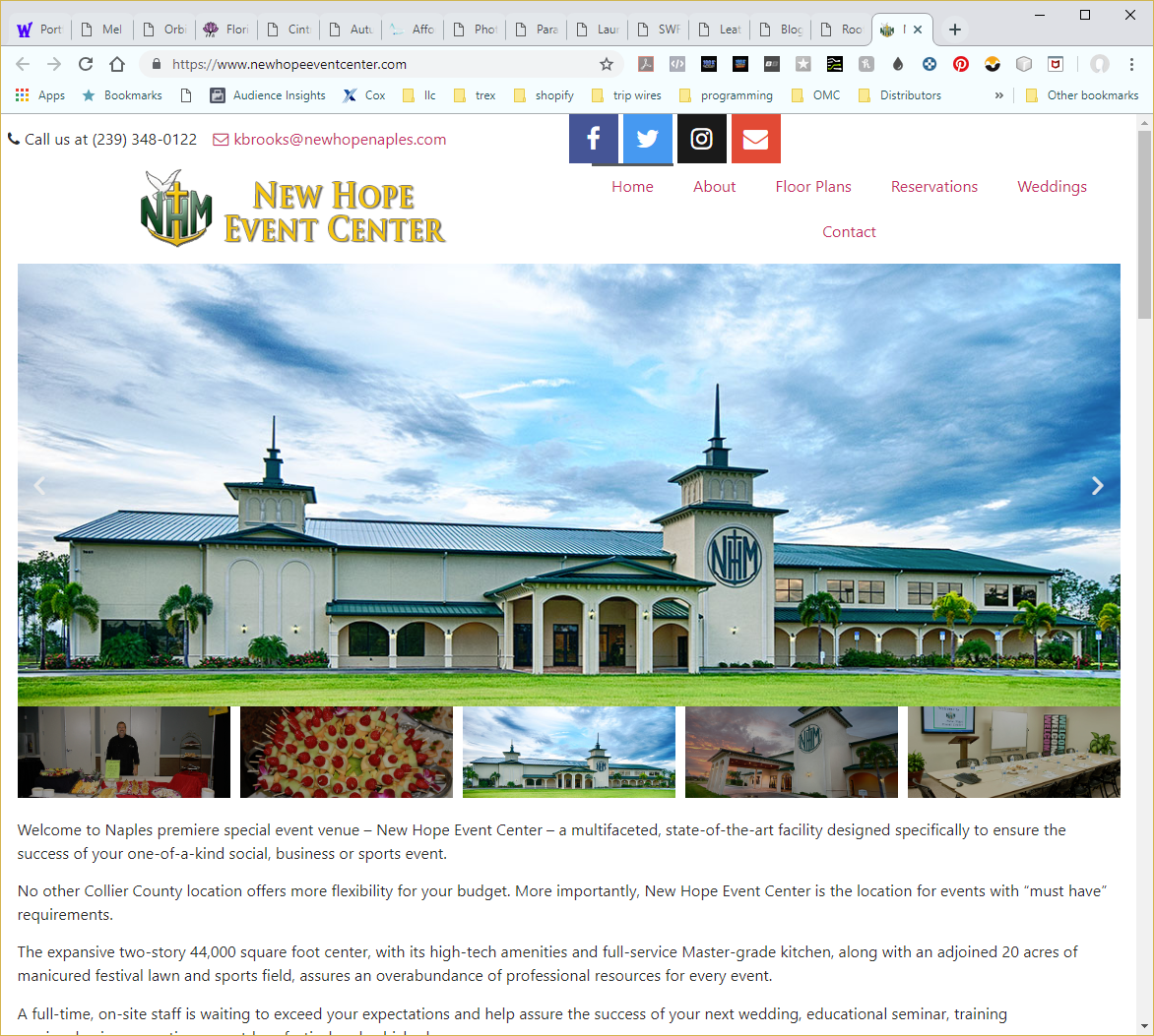 Wethersfield Web Services Profile Page - Website Image